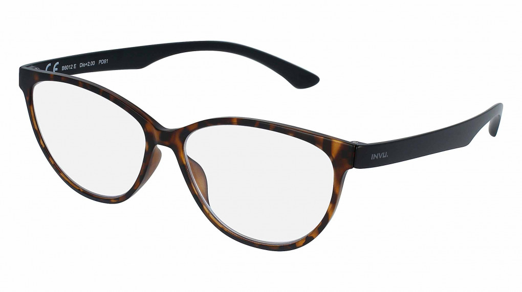 Poetry Brown Demi with Blue Light Protection lenses +1.00