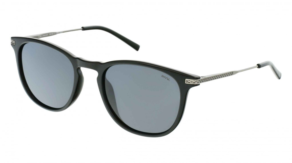 Speed Black/Gun with Solid Grey Ultra Polarized lenses