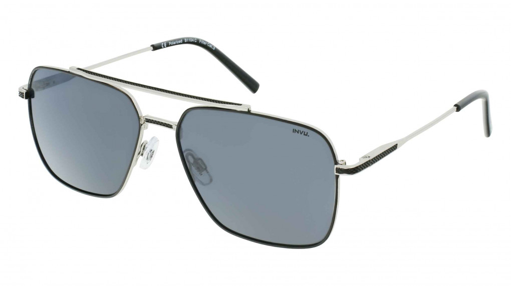 Interceptor Silver/Black with Solid Grey Ultra Polarized lenses