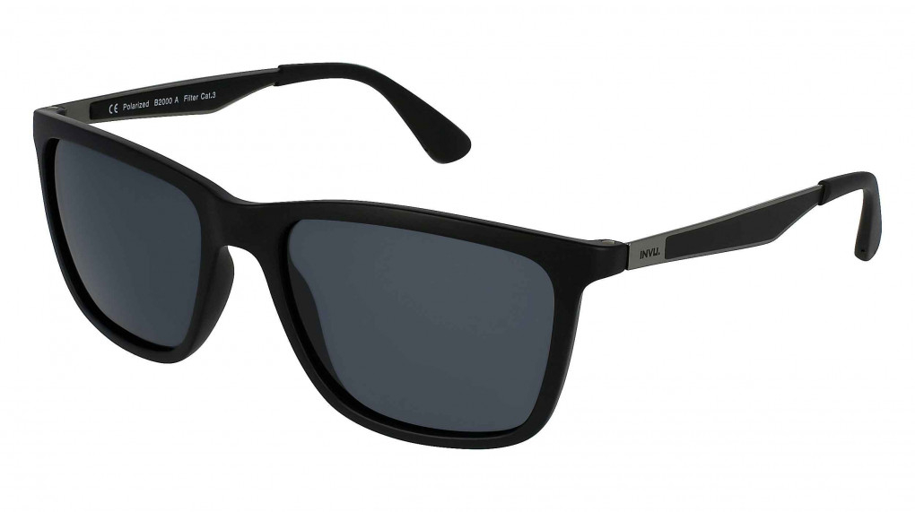 Sonoma Matte Black/Matte Gun with Solid Grey Ultra Polarized lenses
