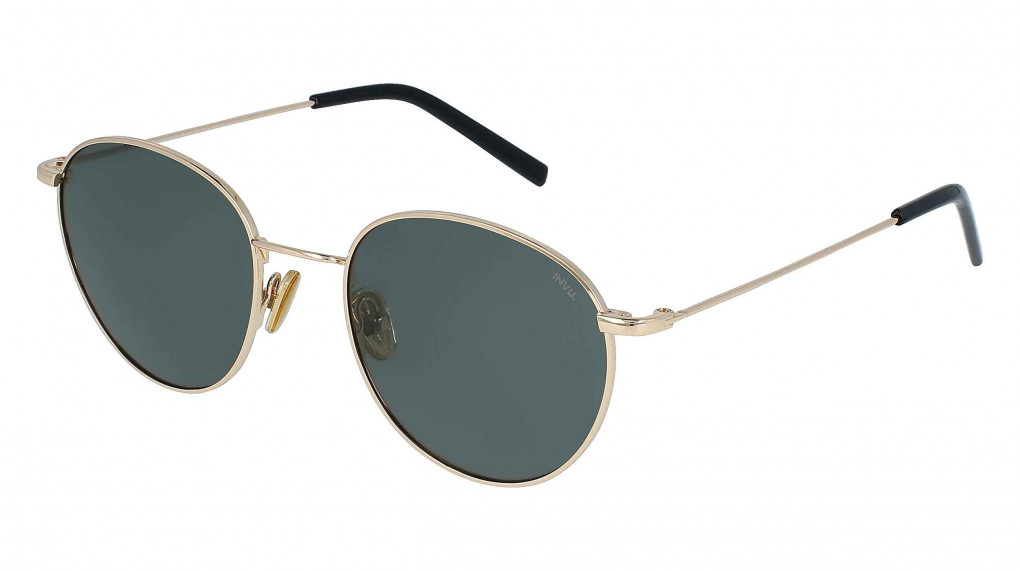 Daytona Gold with Solid Green Ultra Polarized lenses