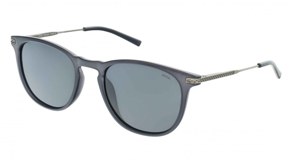 Speed Milky Grey/Gun with Solid Grey Ultra Polarized lenses