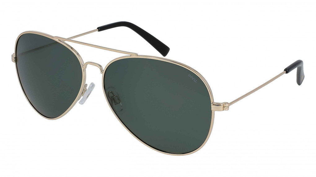 Cruise Gold with Solid Green Ultra Polarized lenses
