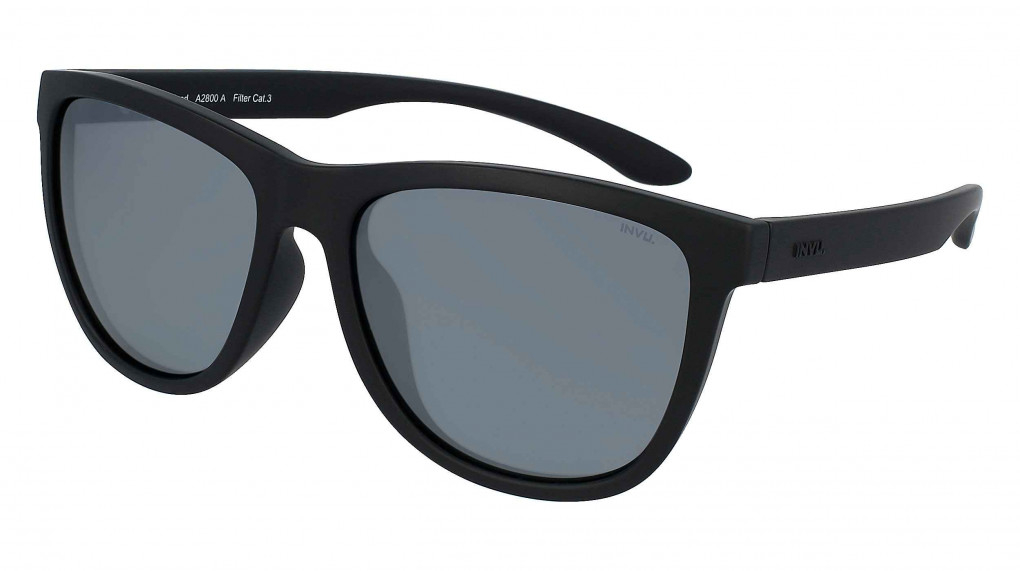 Everest Satin Black with Mirror Silver on Smoke Ultra Polarized lenses