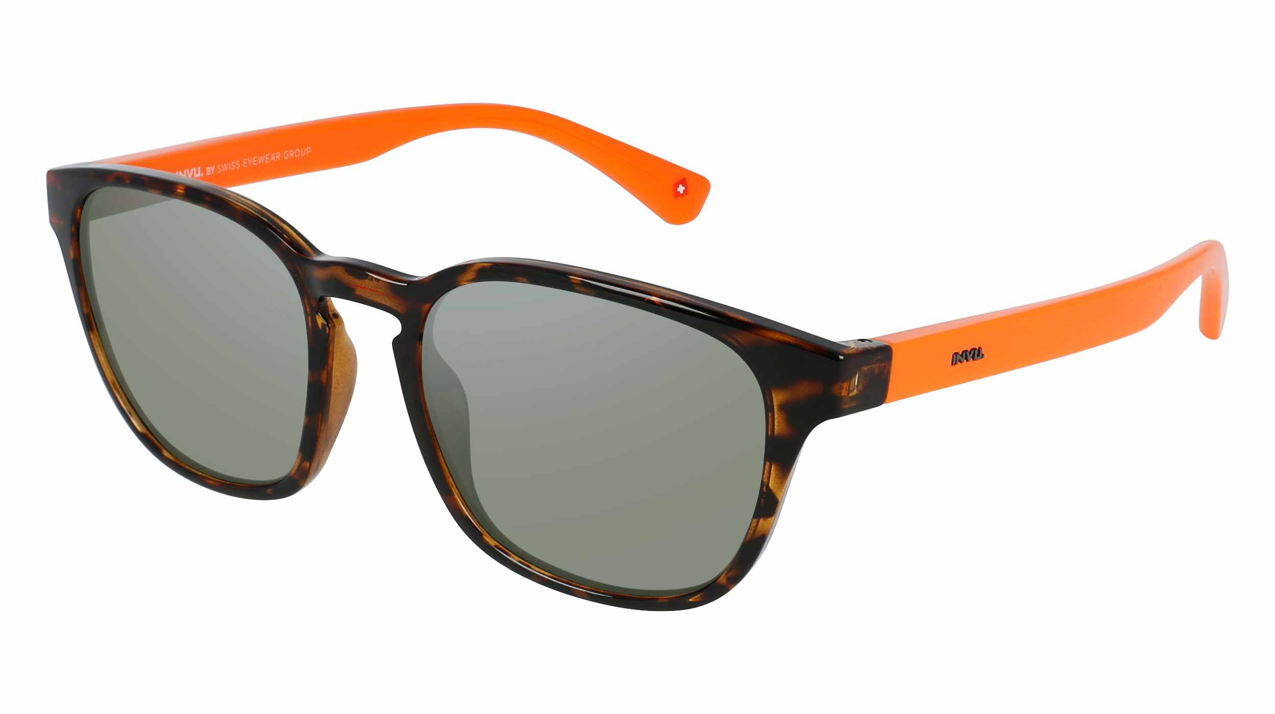 Bond Street Dark Tortoise Orange Green