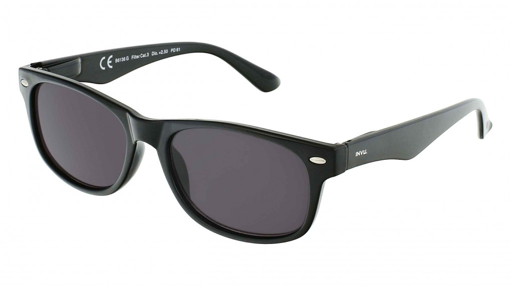 Cronos Black Sunreader with 100% UV Protection Reading Glass lenses