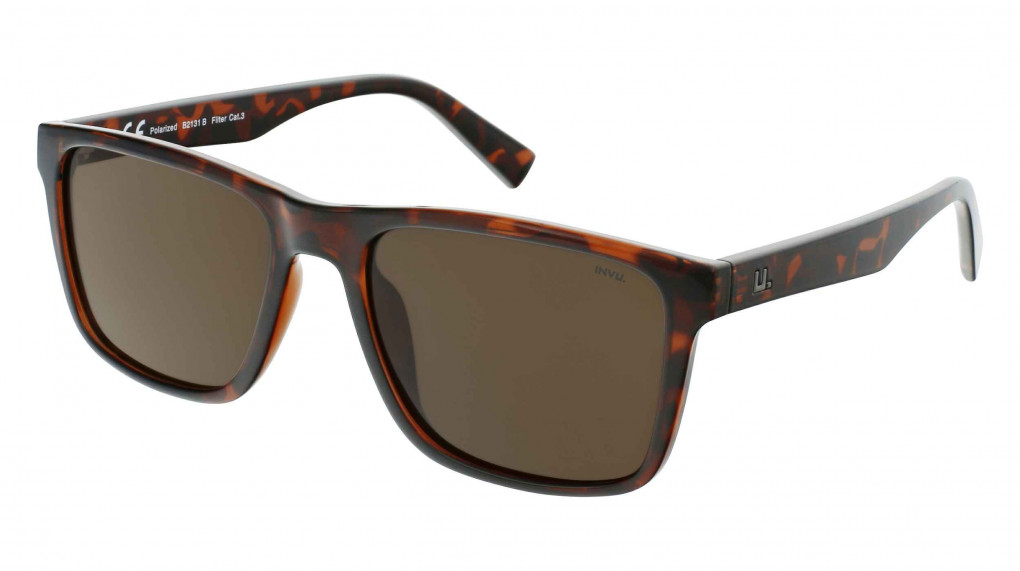 Lagoon Dark Demi with Solid Brown Ultra Polarized lenses