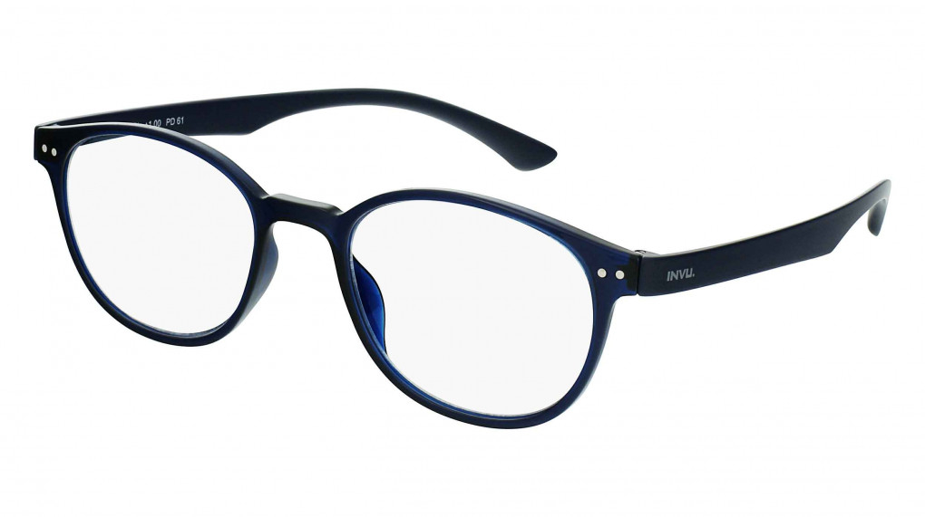 Heracles Transparent Blue with Blue Light Protection lenses